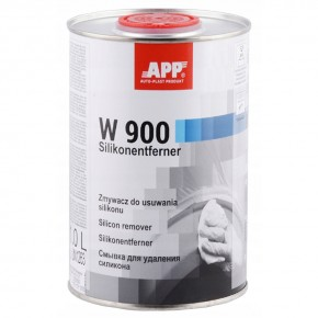 Смывка для удаления силикона (обезжириватель) W 900, APP, 1l, 030150