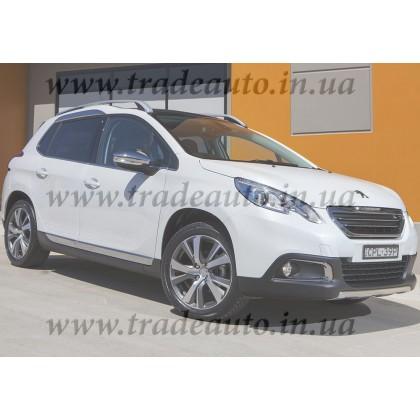 Дефлекторы окон Heko на Peugeot  2008 2013->