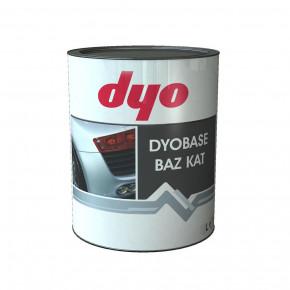 Краска металлик-база Dyo Nissan KLO Серебристо-серый 1l
