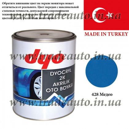 Краска акриловая Dyo 428 Медео 1l