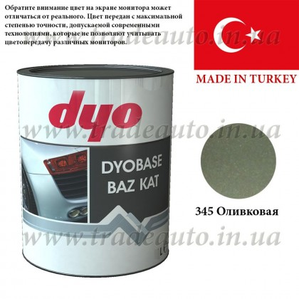 Краска металлик-база Dyo 345 Оливковый 1l